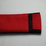 Black-Red sleeve