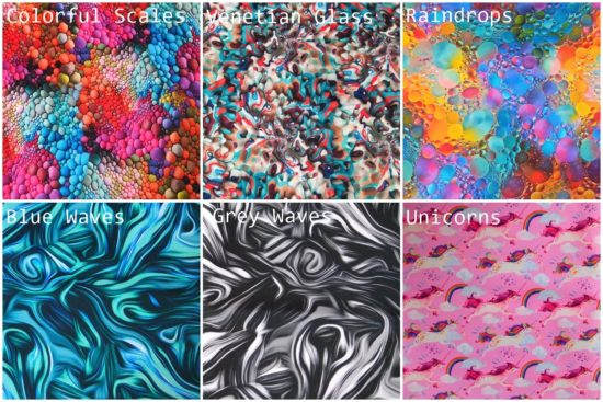 New fabrics for pocket and strap